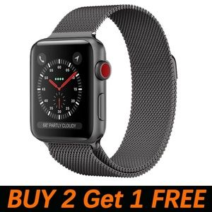 NEW Magnetic Stainless Steel Band For Apple iWatch